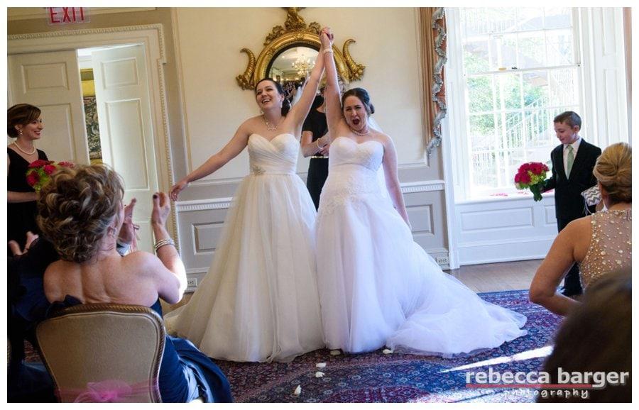 Just Married!  Brantwyn Estate