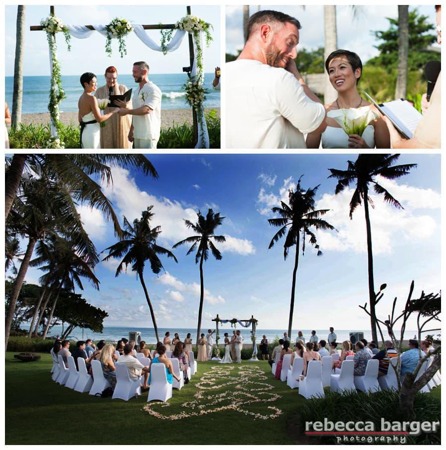 Wedding ceremony Canggu, Bali.