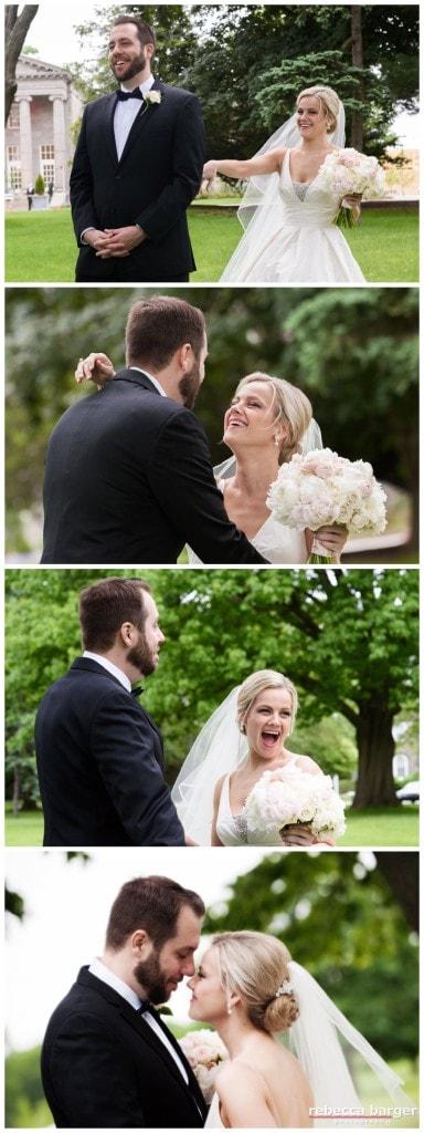 Stephanie and Michael's First Look!