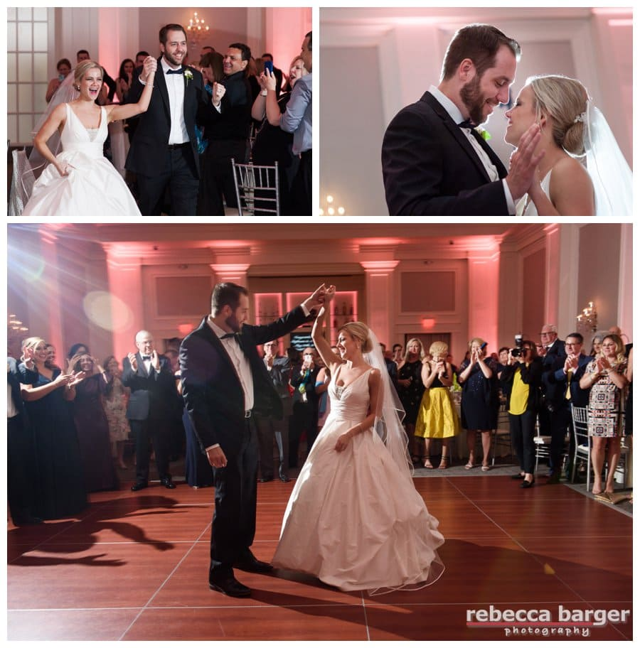 First dance! Entertainment by Beverly Hills Entertainment.