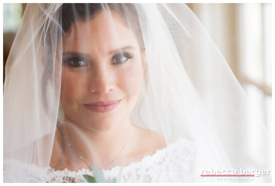 Such a pretty bride! Hair and Make up by Bryona Smith.