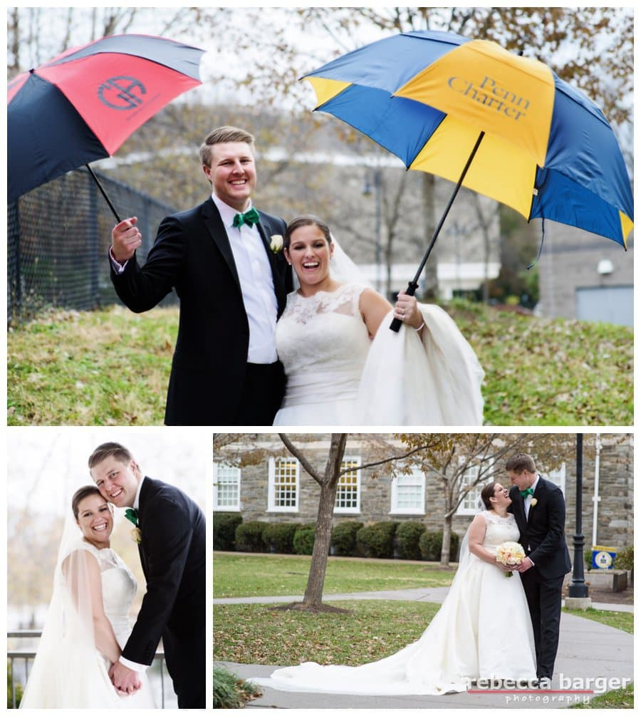 She went to Penn Charter, he went to Germantown Academy!