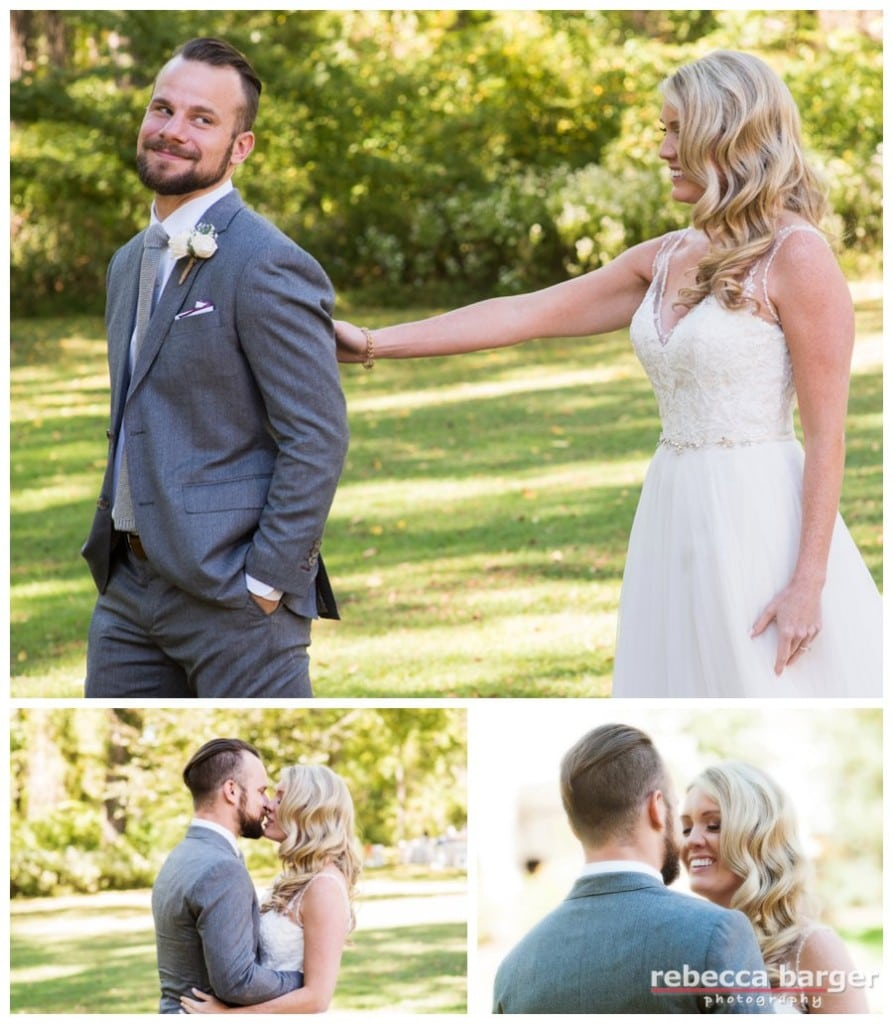 First look for Claire and Ryan at the Anthony Wayne House in Paoli.