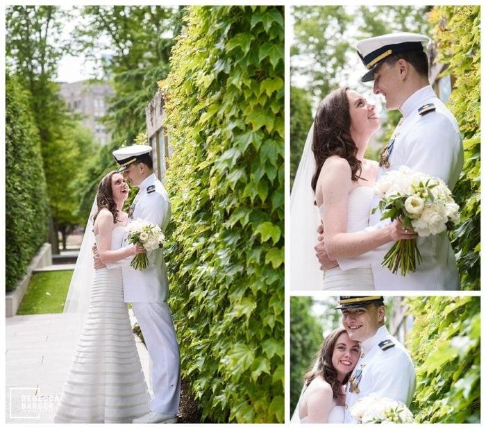 barnes foundation wedding photos