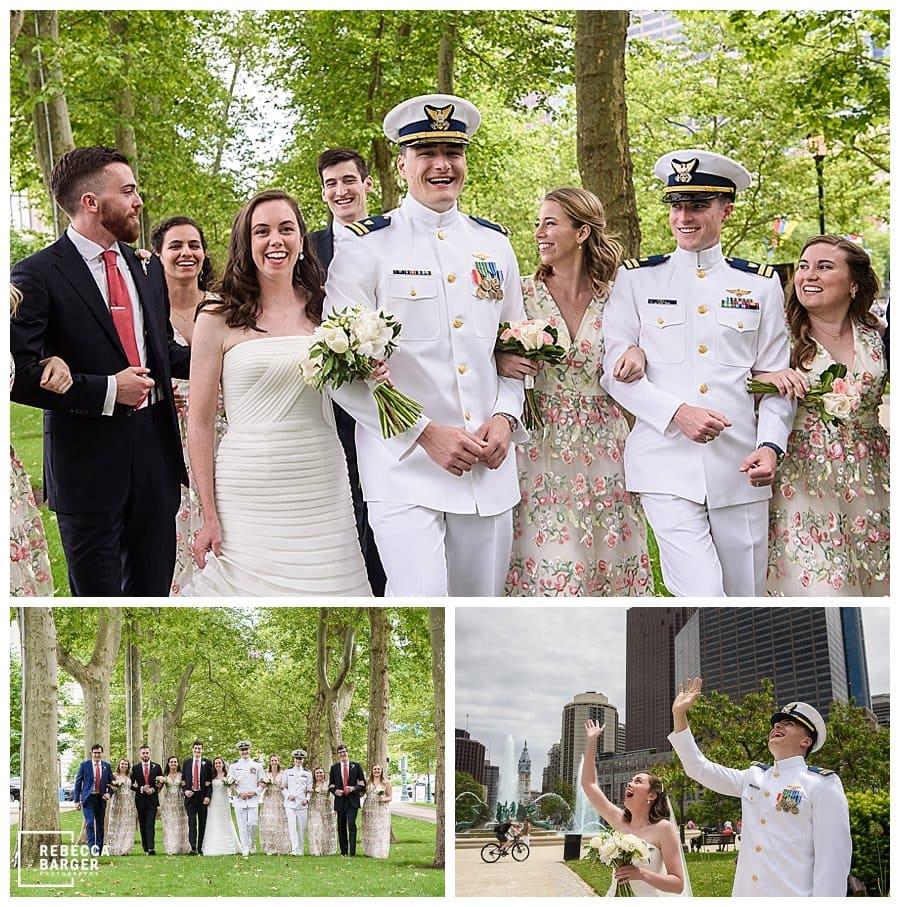 Logan square wedding photos