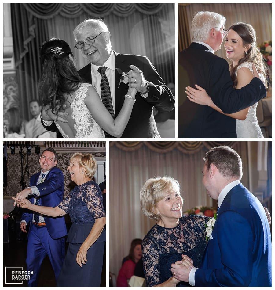 parent dances during reception philadelphia