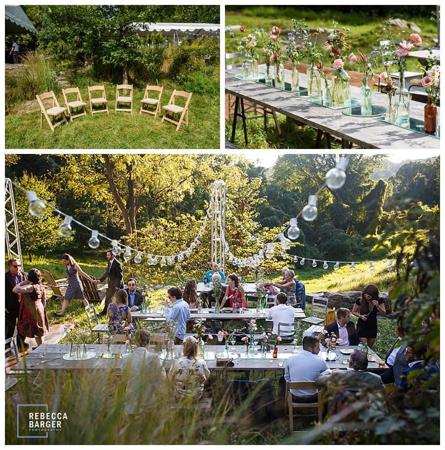 feast your eyes outdoor wedding