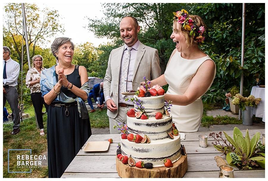 feast your eyes wedding cake