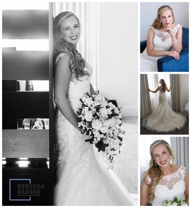 modern bride portraits at Loews