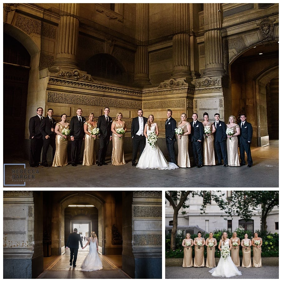 modern bridal party architecture